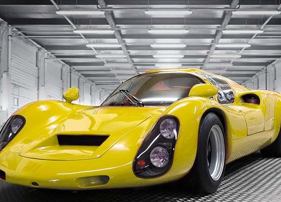 The classic reinterpreted: Kreisel EVEX Porsche 910e