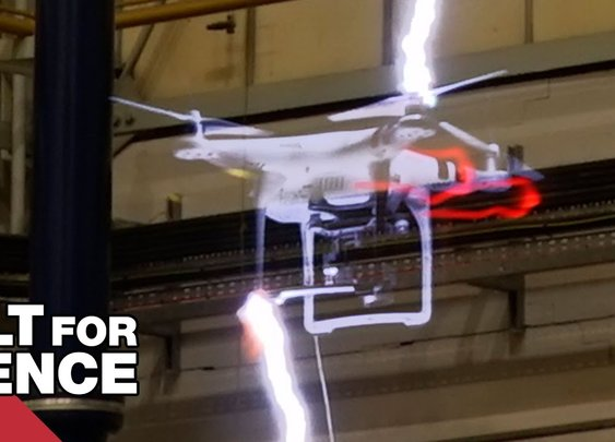 Drones vs Lightning