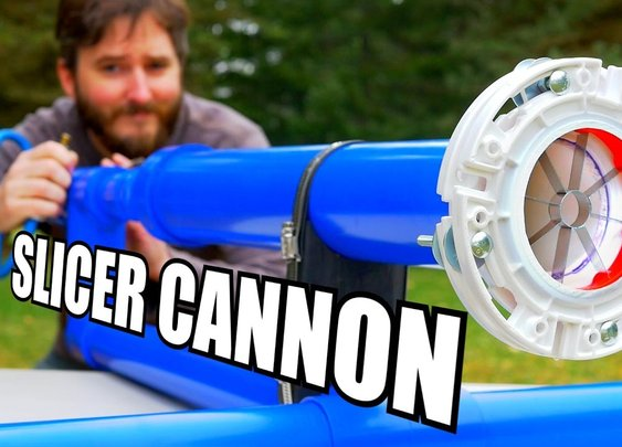 How To Make A Produce Slicing Shotgun Barrel For Air Cannons