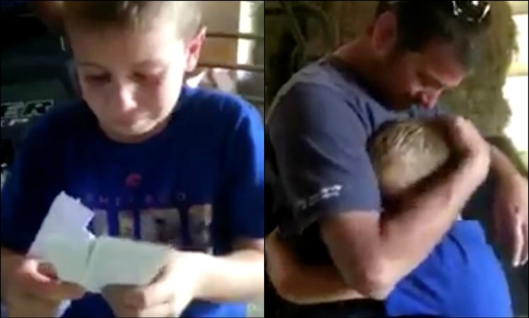 9-year-old Cubs fan had a priceless reaction when parents surprised him with tickets | For The Win