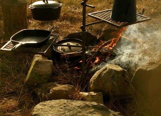 Nice Campfire Arrangement
