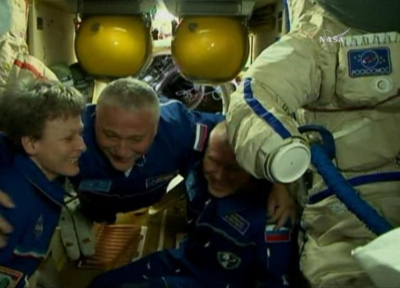 "Astronaut says flight to Space Station felt like ""burrito of awesomeness smothered in awesome sauce"""