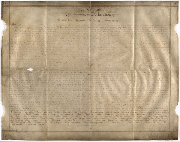 Found: A Unique, Handwritten Copy of the Declaration of Independence