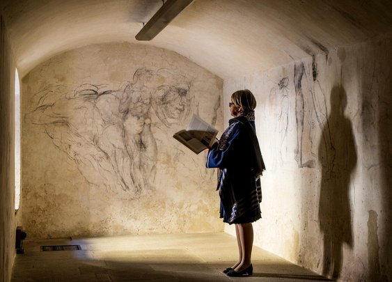 Secret Room Holds 'Lost' Michelangelo Artwork