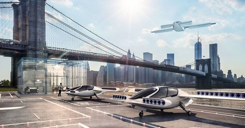 Lilium's electric personal jet manages a vertical takeoff
