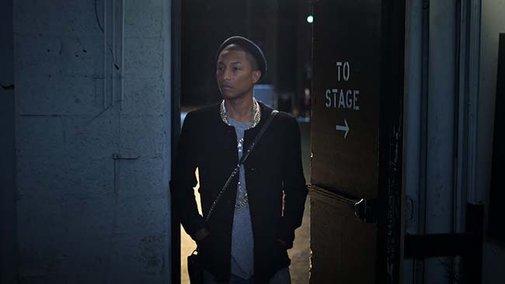 Pharrell Williams Stars in Chanel's Gabrielle Bag Movie