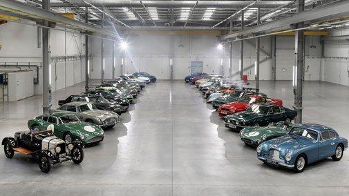 £65 million worth of Aston Martins unleashed at new St Athan plant | Aston Martin