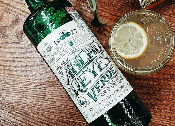 Delicious Poblano Liqueur Is a Thing