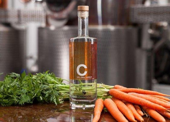 Liquor Made from Carrots