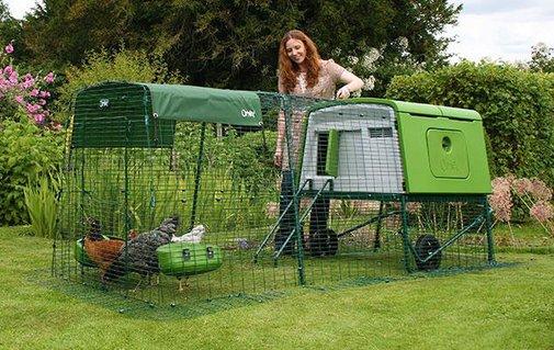 New Eglu Cube Chicken Coop