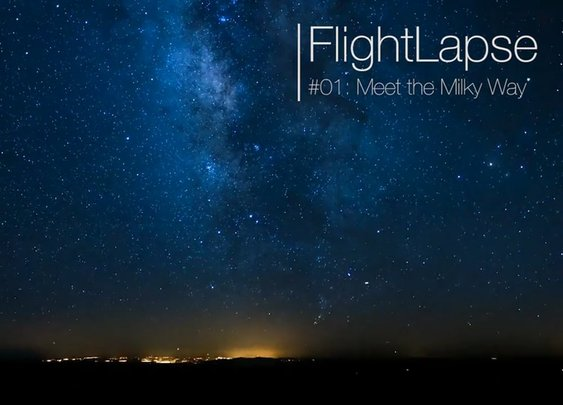 FlightLapse —A Time-lapse from the Cockpit of an Airplane