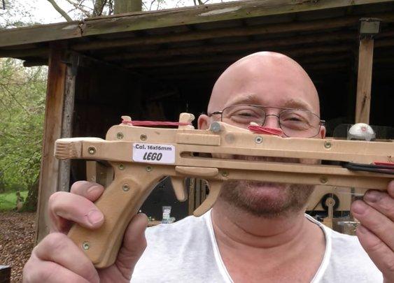 DIY Pistol Lets You Take Pot Shots With Legos