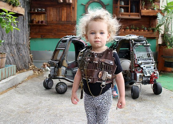 Dad Turns Kids' Cozy Coupe Toy Cars Into Intimidating Mad Max: Fury Road Vehicles