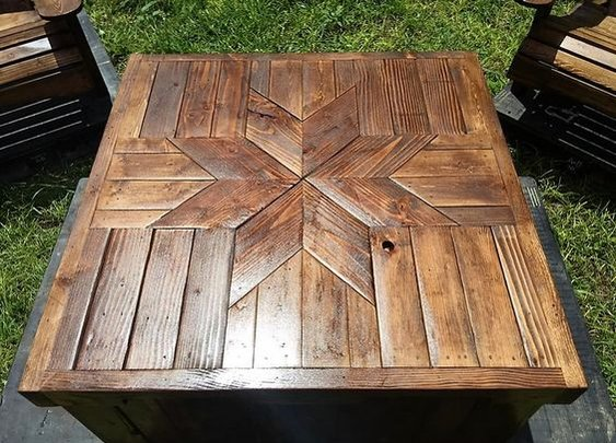 Patio Furniture Made with Pallets