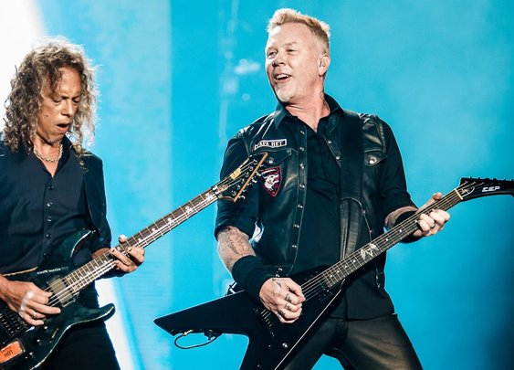 Metallica helped a Metallica tribute band replace its stolen equipment