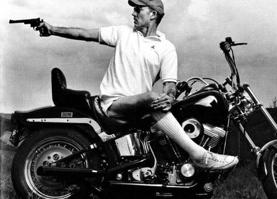 21 Hunter S. Thompson Photos That Prove He Was Larger Than Life