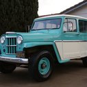 BaT Exclusive: Black-Plate 1962 Willys Wagon |  Bring a Trailer