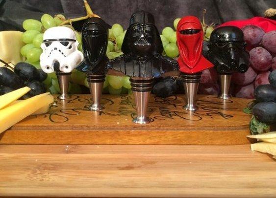 Star Wars Wine Bottle Stopper