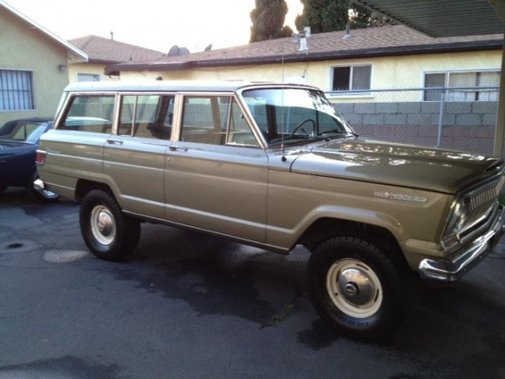 Black-Plate 1968 Jeep Wagoneer |  Bring a Trailer