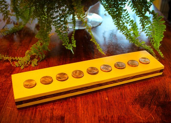 Penny Flip Puzzle: 11 Steps