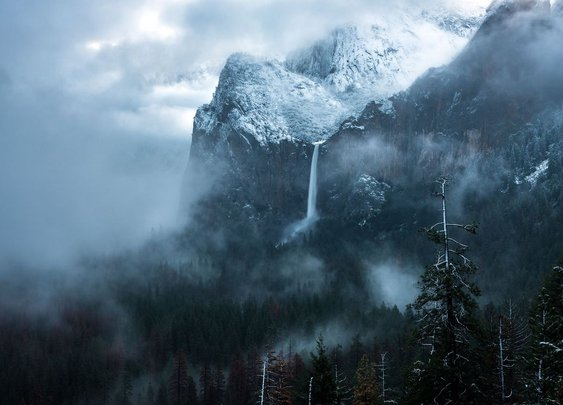 Photo of the Day: Storm at Yosemite Valley
