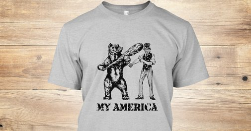 My America - My America T-Shirt from Getting Weird | Teespring