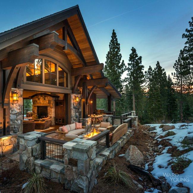 Beautiful Lake Homes: Beautiful Lake Tahoe Lodge