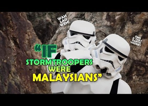 Oh My Dear Vader: What If Stormtroopers Were Malaysians [GabeMODE]