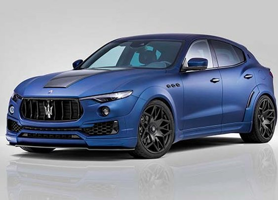 Novitec turns the Maserati Levante into a widebody beast!