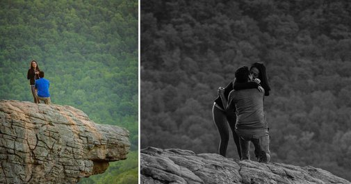 This Photographer Accidentally Shot the Wrong Couple's Proposal