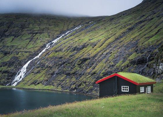 Cabin On the Faroe Islands