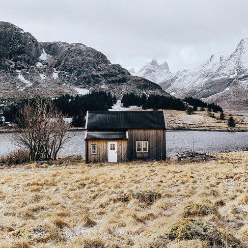 Cabin Home on Loften Islands, Norway