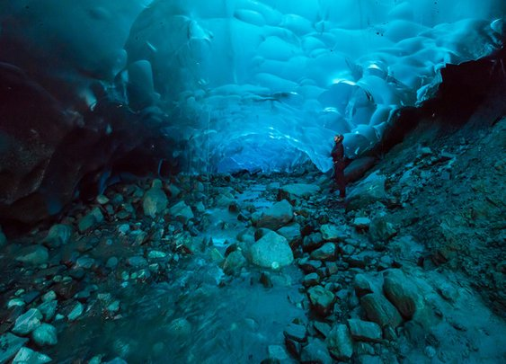 Mendenhall Ice Caves – Juneau, Alaska- Atlas Obscura