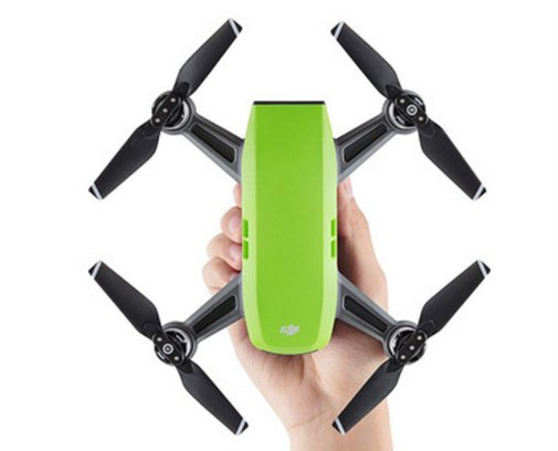 The new DJI Spark - an interesting addition to the DJI line-up - bestuavclips.com