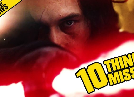 Star Wars: The Last Jedi / Things Missed And Easter Eggs In Its First Official Trailer [GabeMODE]