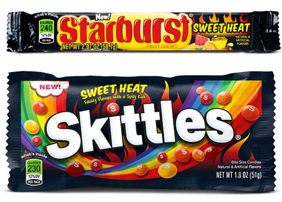Get Ready for Spicy Starburst and Skittles