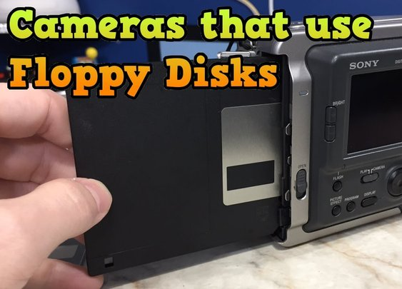 Back When Cameras Used... Floppy Disks? [Times New Geek]