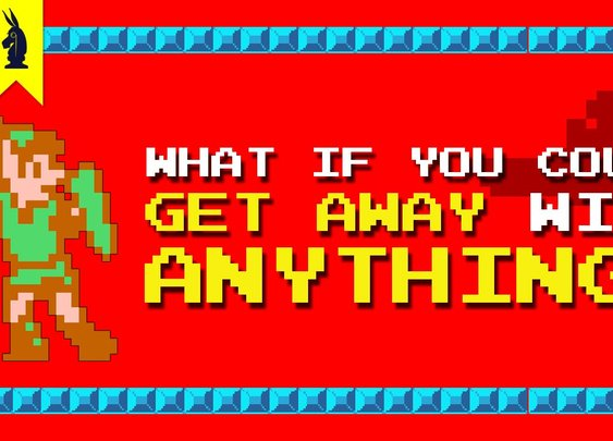 Plato Vs The Legend Of Zelda: What If You Could Get Away With Anithing? [8-Bit Philosophy] [Times New Geek]