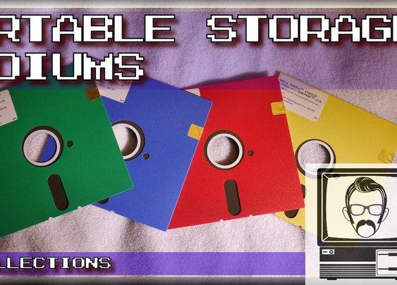 Tapes, Floppy Disks And CD-ROMs: Storage Mediums [Nostalgia Nerd] [Times New Geek]