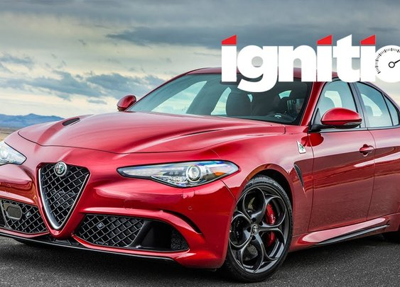 2017 Alfa Romeo Giulia Quadrifoglio: The Return Of The Italian Sport Sedan! [Ignition - Episode 167] [GabeTURBO]