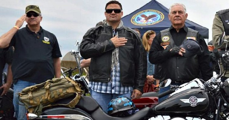 Secretary of State Marks Memorial Day by Riding with Rolling Thunder, & Declining to Celebrate Ramadan ⋆ The Constitution