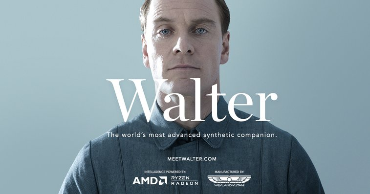 Meet Walter Alien Covenant
