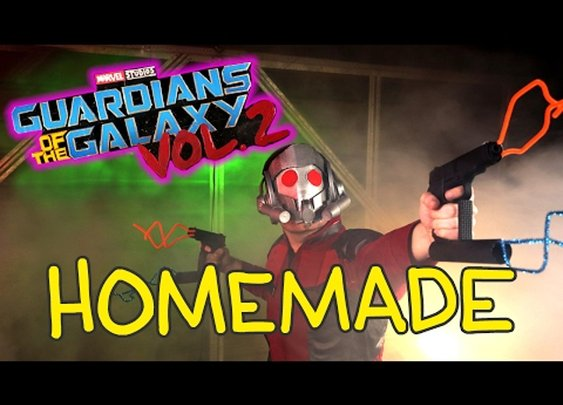 HOMEMADE: Guardians Of The Galaxy Vol. 2! [GabeMODE]