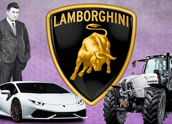 Lamborghini: Never Insult A Tractor Tycoon [Behind The Business] [GabeMODE]