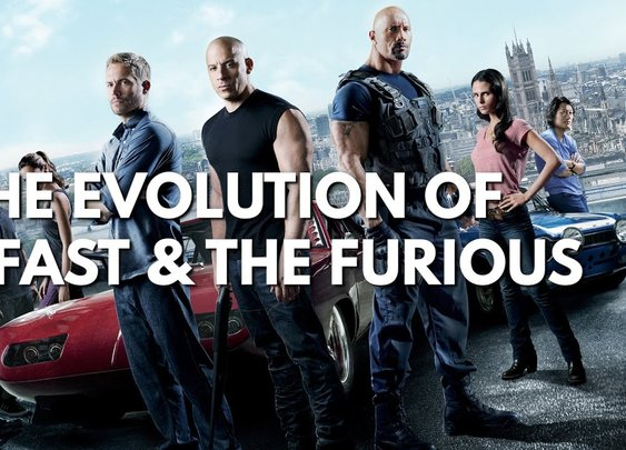 The Evolution Of Fast And Furious (2001-2017) [Burger Fiction] [GabeMODE]