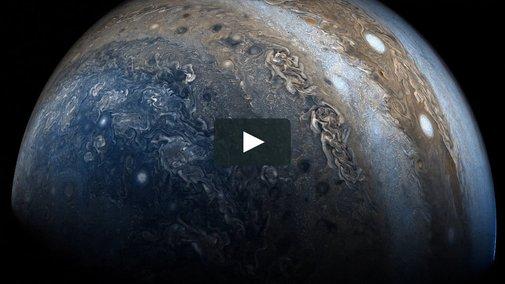 Jupiter: Juno Perijove 06 on Vimeo