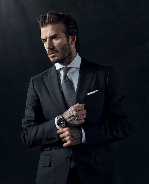 David Beckham scores new role as face of Tudor