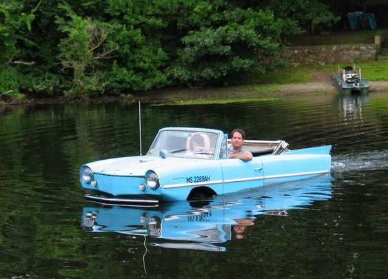 8 Really Strange Amphibious Vehicles