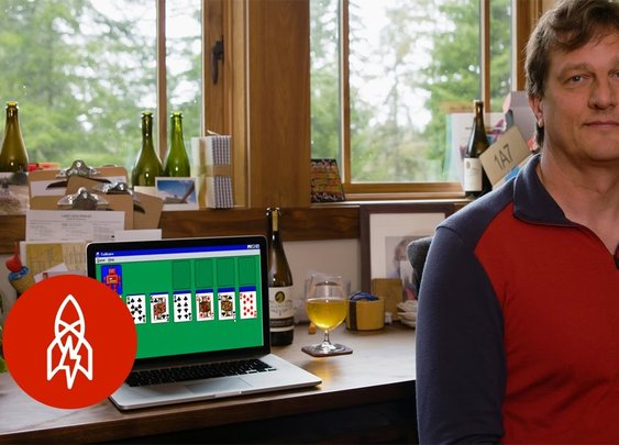 Meet The Intern Who Wrote Solitaire For Microsoft [Great Big Story] [GabeMAX]