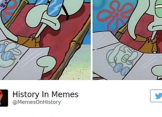 Some history in meme tweets